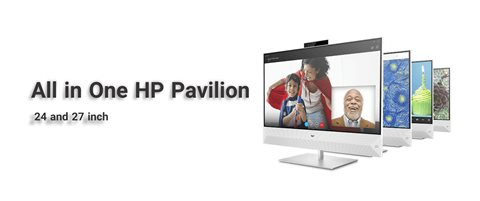 All in One HP Pavilion 24 and 27 inch