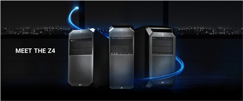 HP Z4 Desktop Workstations